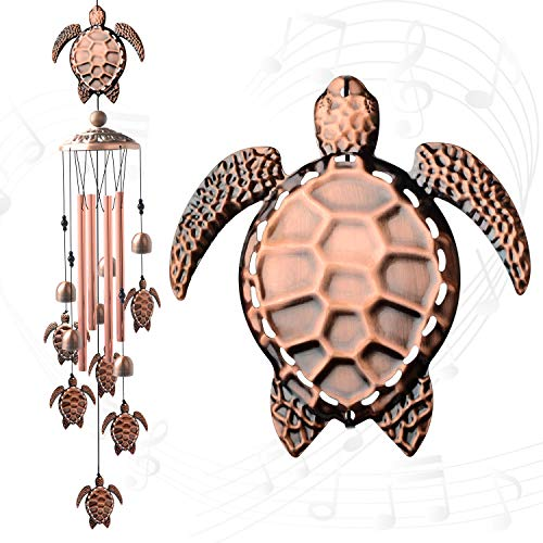 turtle wind chimes outdoor sympathy Retro windchimes unique outdoor clearance Gifts For Mom Gift Windchime Wind Chimes Garden Party Outdoor Outdoor with S Hook Hooks Indoor and Outdoor Decorations