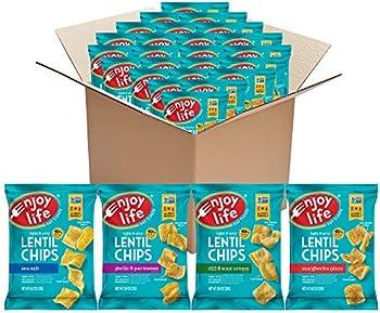 24-Pack Enjoy Life Non GMO Lentil Chips Variety Pack