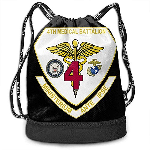 1Zlr2a0IG 4th Medical Battalion (United States Marine Corps) Funny Tote Bag
