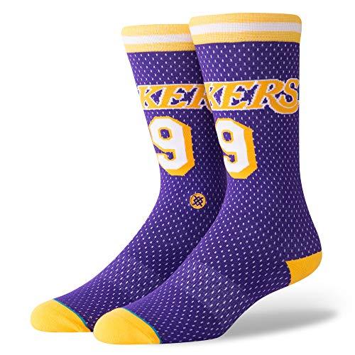 Stance Calzino Nba Los Angeles Lakers 94 Hwc The Uncommon Thread viola/giallo/bianco formato: 43 a 46 EU I 9-11.5 USA I 8.5-11 UK