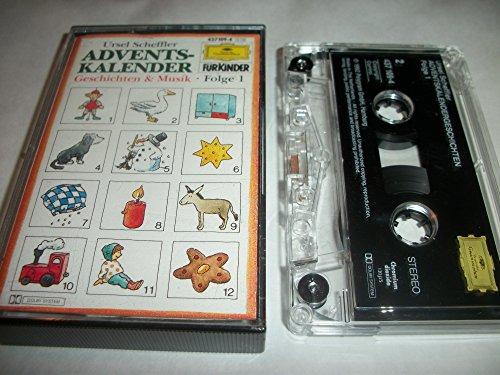 Adventskalender Gesch.&Musik 1 [Musikkassette]