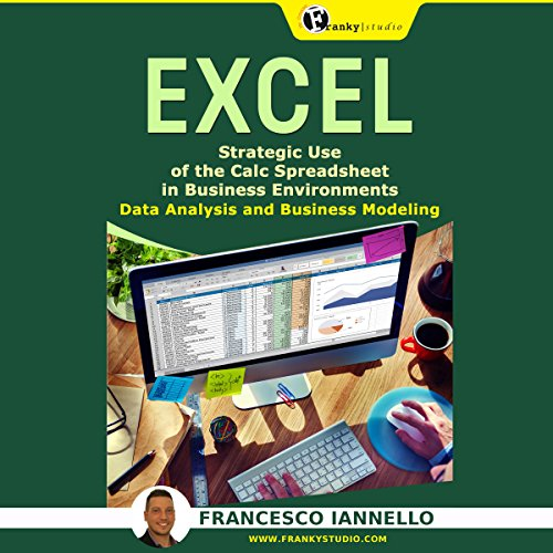 Excel: Strategic Use of the Calc Spreadsheet in Business Environment, Data Analysis and Business Modeling audiobook cover art