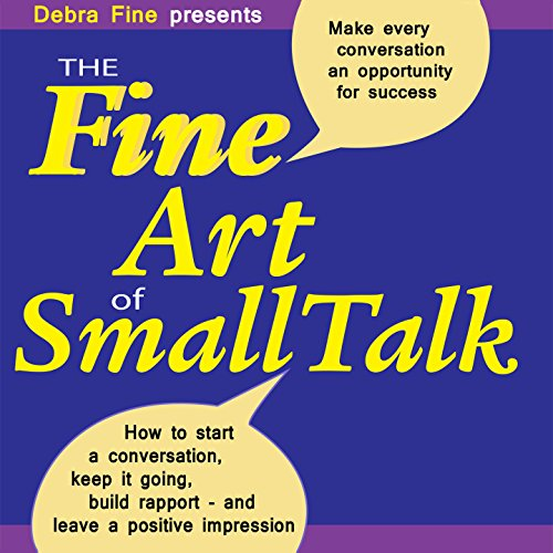 The Fine Art of Small Talk audiobook cover art