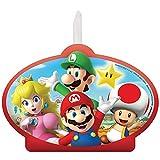 Super Mario Brothers Birthday Candle Set   4 Pcs.