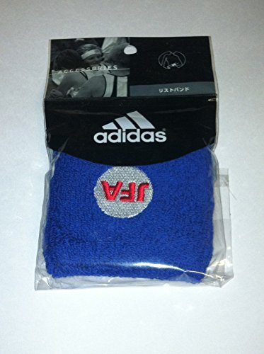 adidas Frottee Tennis Wristband Schweißband JFA Large blau 1 STK.