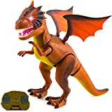 Toysery Remote Control Dinosaur Toys with Dragon...