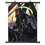 Seraph del Fin (Owari no Seraph) Anime Tejido Póster de desplazamiento de pared (32x 46)) by WallScrollPosters