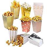 Cajas de Palomitas de maíz/Envases de Caramelos de Cartón/Alimenticio Contenedor Snack Party Bags...