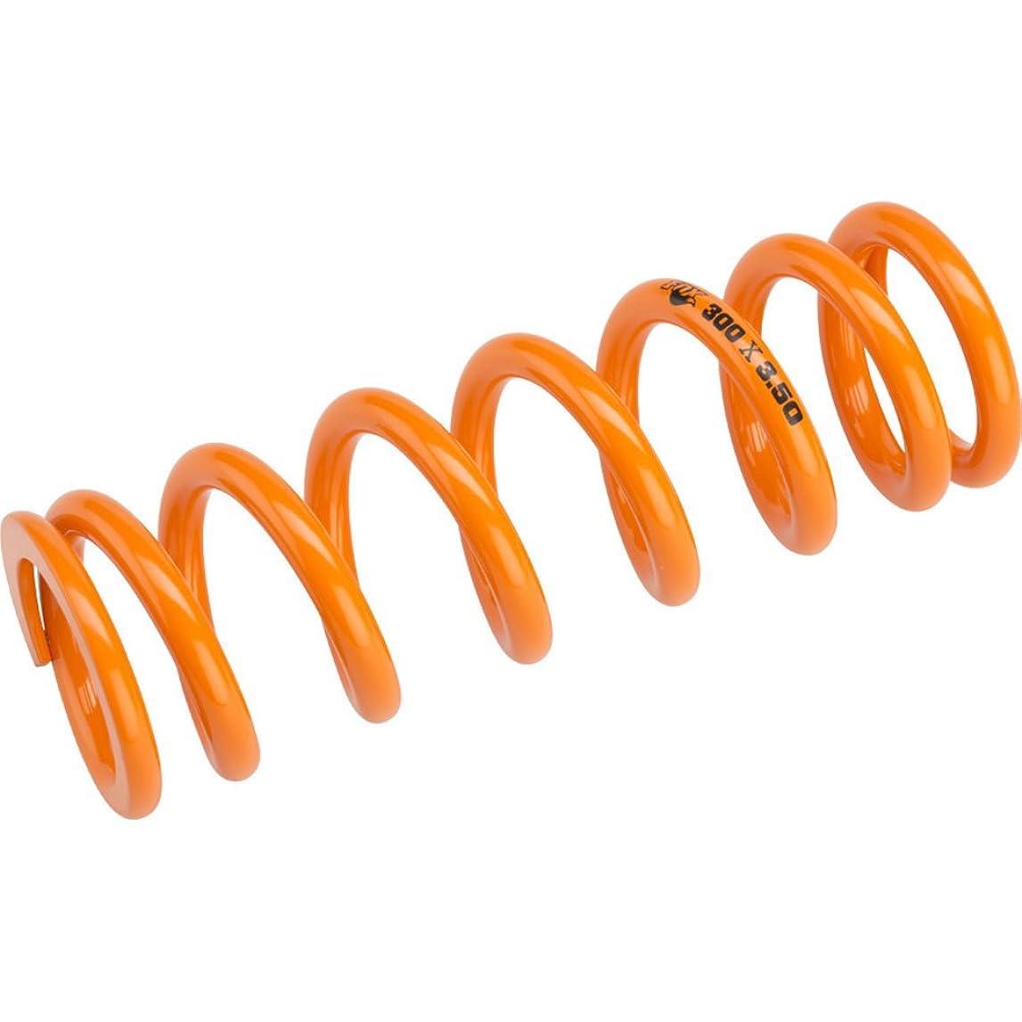 大砲家族エッセンスフォックスSLSコイルリアショックスプリング300lbs X 3.5ストロークオレンジ