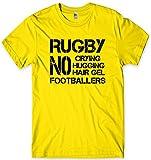 Daytripper T-Shirt de Rugby avec Slogan Humoristique 6 Nations - Jaune - XXL