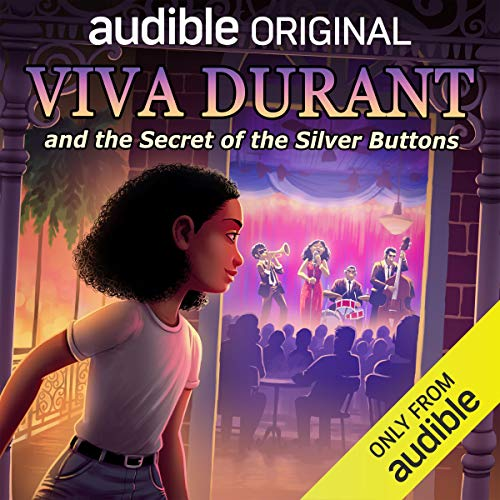 Viva Durant and the Secret of the Silver Buttons audiobook cover art