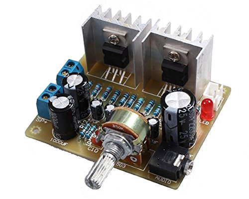 Read About Icstation TDA2030 2X15W Stereo Audio Amplifier DIY Kits Electronics Soldering Practice Su...