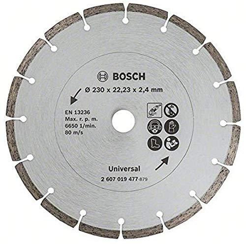 Bosch DIY Diamanttrennscheibe für Baumaterial (230 mm)