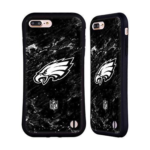 Head Case Designs Oficial NFL Mármol 2017/18 Philadelphia Eagles Carcasa híbrida Compatible con Apple iPhone 7 Plus/iPhone 8 Plus