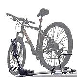 LALEO Porte-vélos sur Toit Rabattable, 1 Vélo, pour Voiture SUV Camion