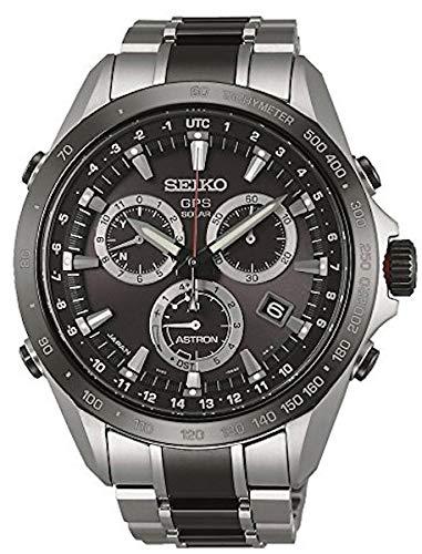 Seiko Reloj Análogo clásico para Hombre de Cuarzo con Correa en Acero Inoxidable SSE029J1