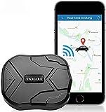 Rastreador GPS,4G GPS Tracker para Autos Vehículo o Moto,Antirrobo Localizador GPS con Imán Fuerte Oculto,Alarma Anti-Robo, Límite de Velocidad y Geo-Cerca para Android y iOS TK905