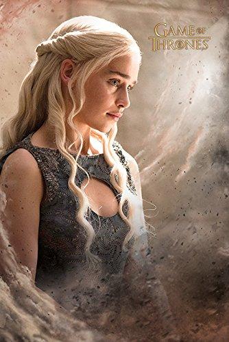 Game of Thrones, Maxi Poster di Daenarys, in Legno, Multicolore
