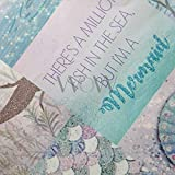 Arthouse Mermazing Wallpaper, Blue