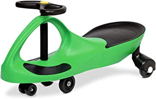 Keezi Ride On Swing Car Toy Wiggle Scooter Car-Green