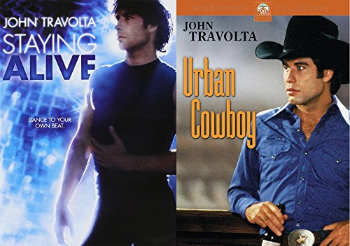 John Travolta Urban Cowboy & Staying Alive Double Feature Set
