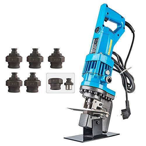 CGOLDENWALL φ 6.5 to 20.5 mm Electric Hydraulic Puncher 5 types Hydraulic Punch Drilling Hydraulic Punch Hydraulic Hole Punching Toolwith Dice For Drilling Copper Aluminum Steel Iron plate