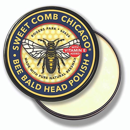 Bee Bald Head Polish: Mens Aftershave Polish for...