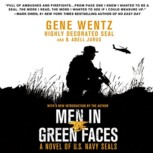 Men in Green Faces audiobook cover art