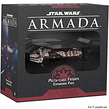 Star Wars  Armada – Pelta-Class Frigate Miniature Game Strategy Game for Teens and Adults Ship Expansion Set Ages 14+ for 2 Players Average Playtime 120 Minutes Made by Atomic Mass Games  SWM40