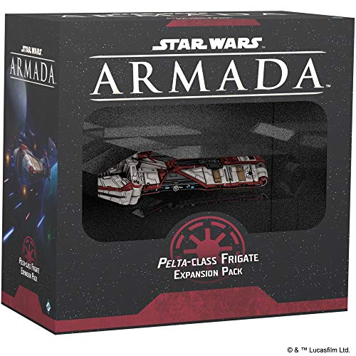 Star Wars: Armada – Pelta-Class Frigate Miniature Game Strategy Game for Teens and Adults Ship Expansion Set Ages 14+ for 2 Players Average Playtime 120 Minutes Made by Atomic Mass Games (SWM40)