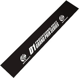 Demupai Front Windshield Banner Decal Windscreen Sticker for D1 Drift (Black Background)