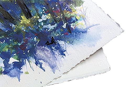 Arches Cold Press Watercolor Paper, 22 x 30 Inches, 300 lb, Off White, 5 Sheets