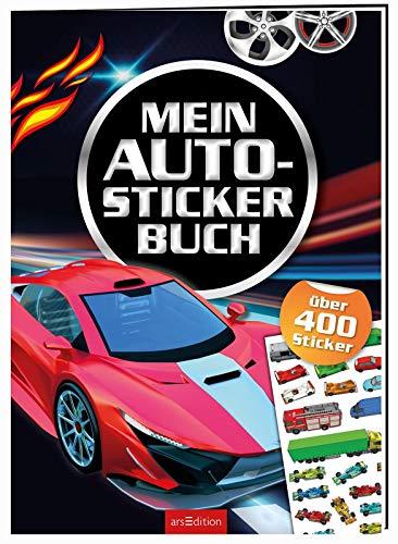 Mein Auto-Stickerbuch: Über 400 Sticker | Stickerheft für Kinder ab 4 Jahren (Mein Stickerbuch)