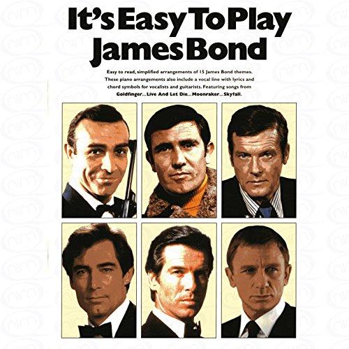 Het is gemakkelijk om te spelen James Bond - gearrangeerd voor Songbook [Noten/Sheetmusic]