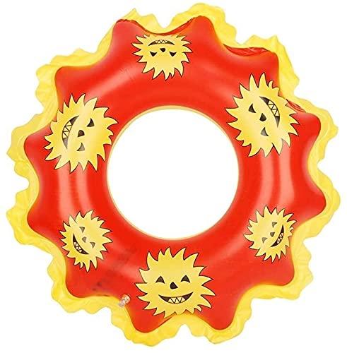LEYIS Bambini Sole Nuotare Anello Pool Bagno Anello Galleggiante Anello for Adulti e Bambini (a Colori: A)