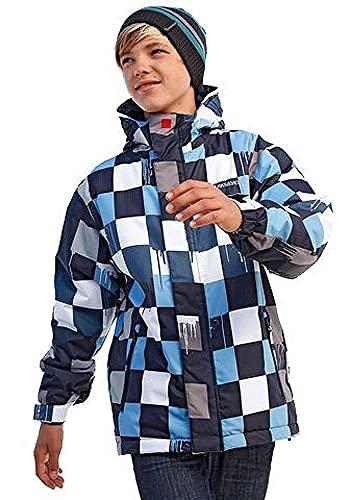 Quicksilver Jungen Snowboardjacke Jacke Winterjacke (Mountain Blue, 128)