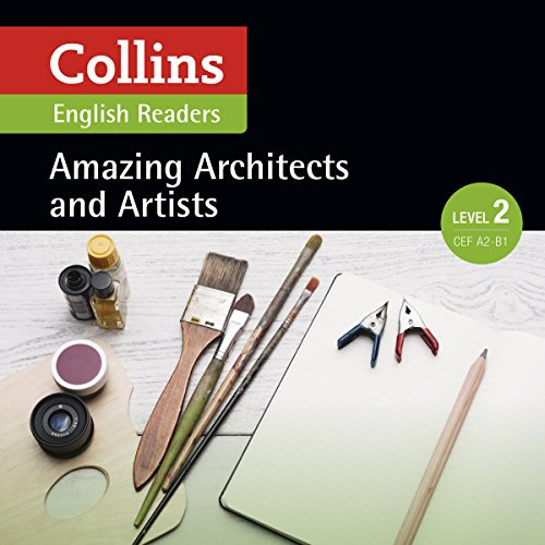 Amazing Architects & Artists audiobook cover art