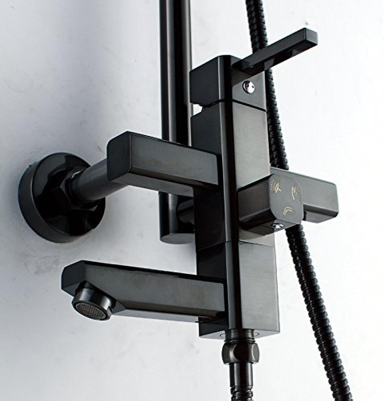 HSDDA Badezimmer-Niederschlag Vollkupfer-Duschkopf-Duschset Aufzugsbaddusche Duschkopf