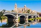 HCYEFG 1000 Piezas De Juguetes De Rompecabezas De Bricolaje La Catedral De Salamanca Es Una Catedral del Gótico Tardío Y Barroco Adult Puzzle Kids Jigsaw