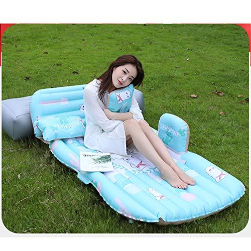 Outdoor Camping Air Bedstravel Auto Rücksitz Aufblasbare Matratze Selbstaufblasende Matratze Aufblasbare Luftmatratze Indoor,B
