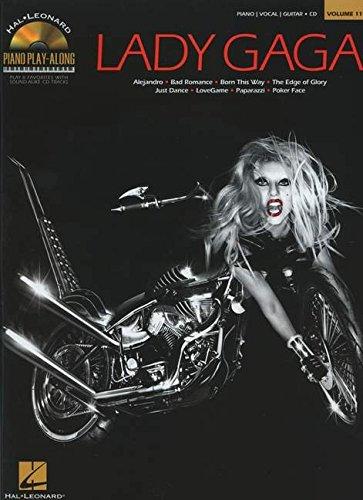 Lady Gaga Piano Play-Along Vol.119 + Cd