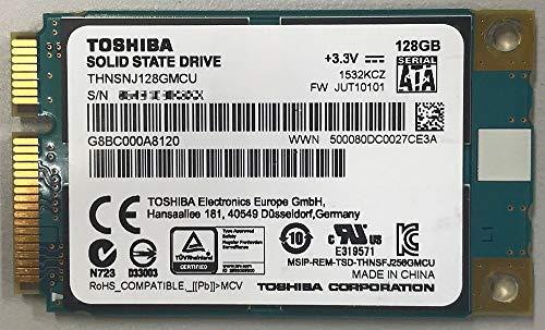 Toshiba 128GB mSATA thnsnj128gmcuソリッドステートドライブ(バルクパック)
