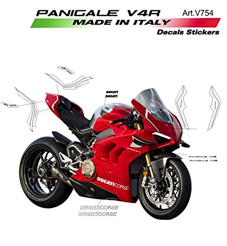 Vulturbike Sticker Set Komplett Replik - Ducati Panigale V4R