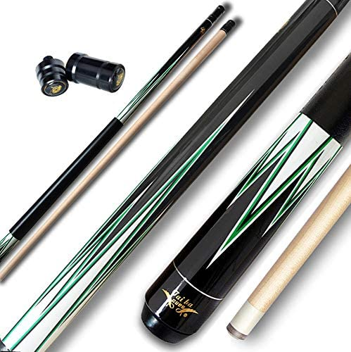 13mm Multilayer Leather Tip Selectable Tai ba cues Pool cue Stick 58 Linen Wrap Hardwood Canadian Maple Professional Billiard Pool Cue Stick 19-21 Oz