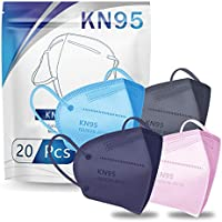 20-Pack Hotodeal 5 Layers Cup KN95 Face Masks (multi color)