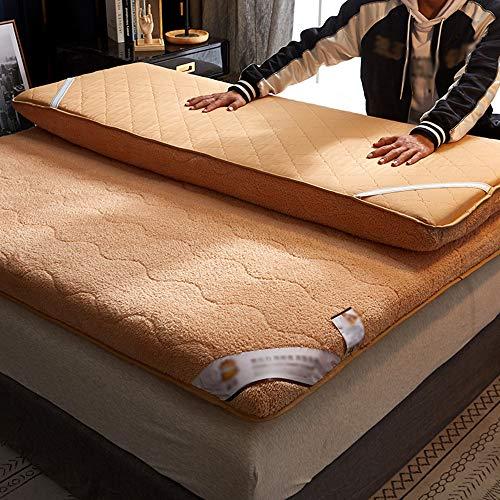 ZXGQF Mattress, comfortable Soft Fold Tatami Mattress Adults bedroom Thick Warm single/double Tatami Mattress (B,180x200cm)