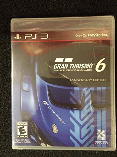 Gran Turismo 6 Anniversary Edition (Playstation 3)