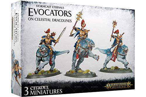 Warhammer Age of Sigmar Evocators on Celestial Dracolines