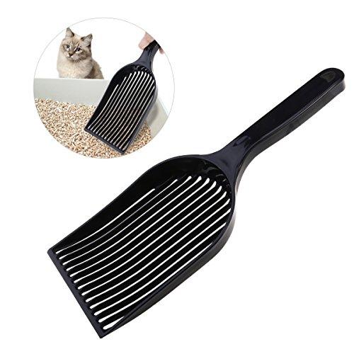 UEETEK Katzenstreu Schaufel, Große Streuschaufel Haltbare Plastiksieb Schaufel für Kitty Katzen Haustiere
