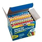Giotto Gessi per lavagna, colori vari, scatola 100 pezzi